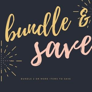 Other - bundle & save 💕